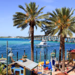 Coastal waters around Destin Florida