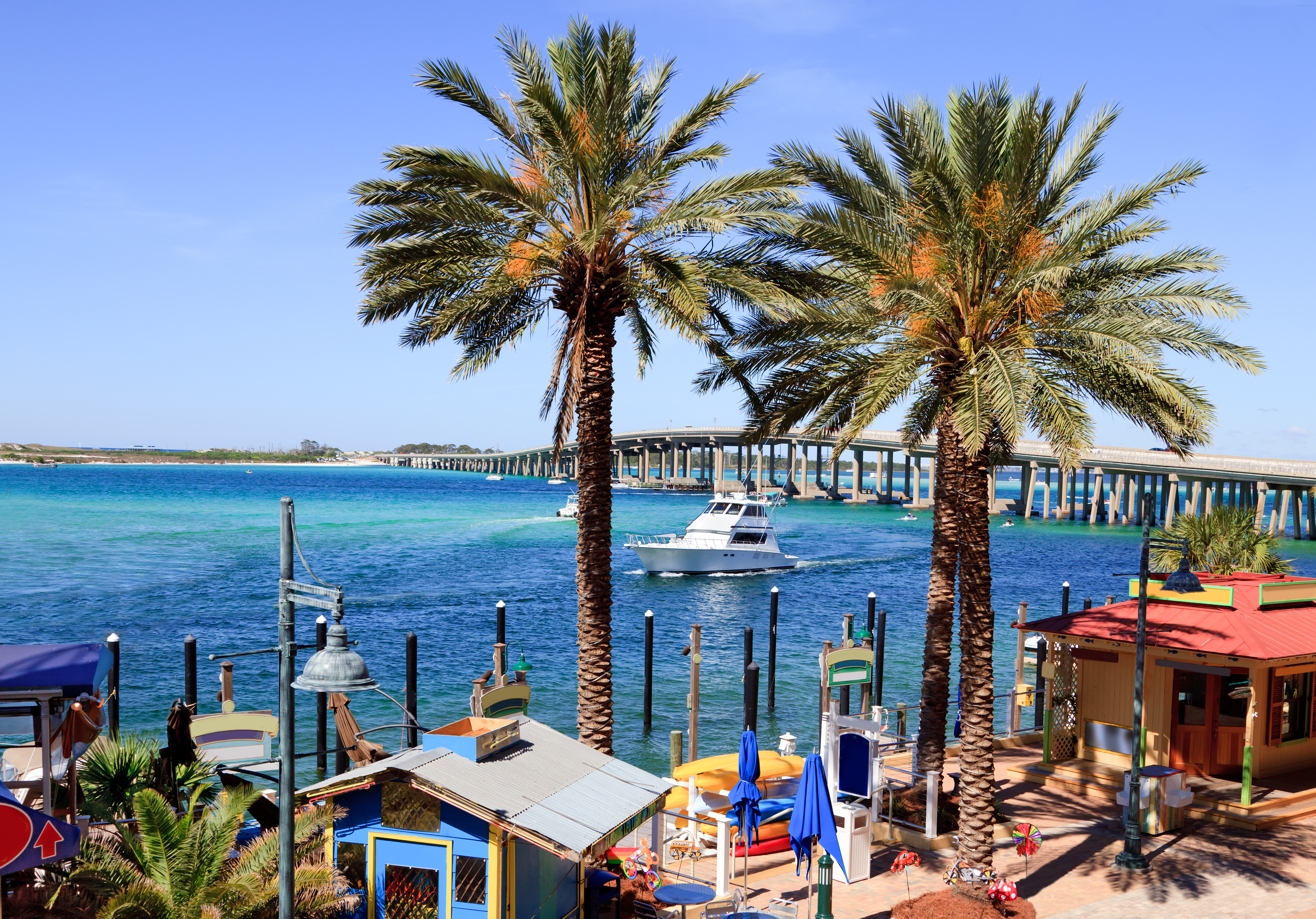 Coastal waters around Destin Florida